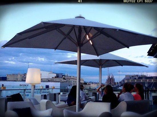 Terrasse Alaire Hotel Condes De Barcelona Picture Of