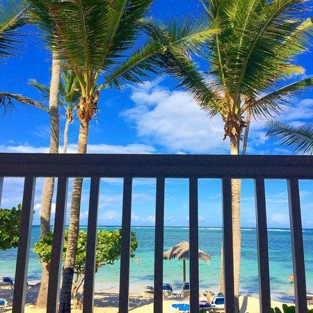 St. James's Club & Villas: A Beach Room with a view