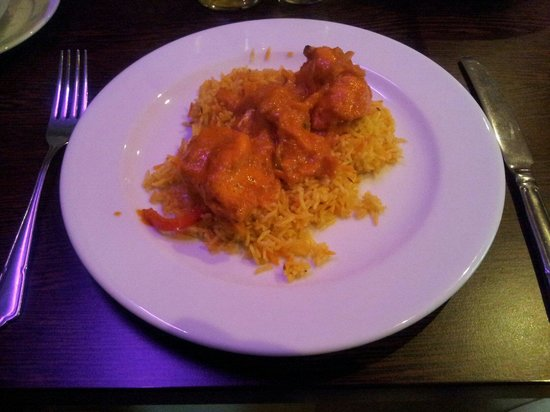Gurkha 3 Nepalese & Indian Cuisine: Gurkhali Chicken with Pilau Rice