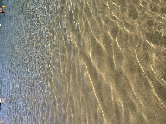 Castle Beach: Crystal clear water