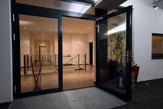 Eingang Apartment Obernosterer