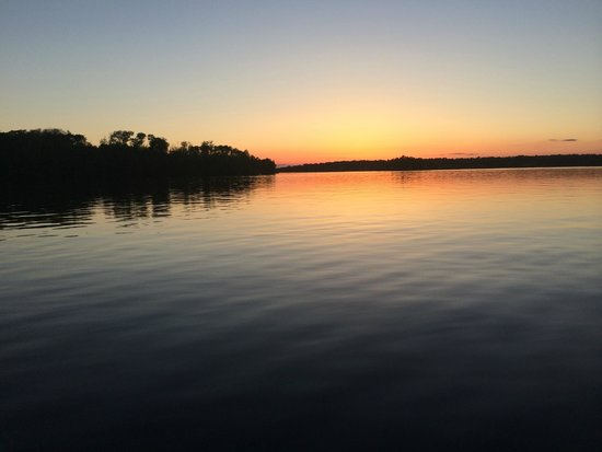 Deerfoot Lodge: Another view from the lodge of the flowage