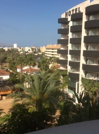 Albir Playa Hotel & Spa: view from 3rd floor