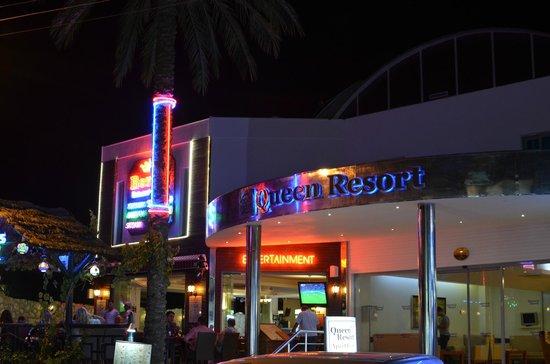 Queen Resort Hotel: hotel front