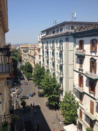 Hotel Cimarosa : vista dalla camera