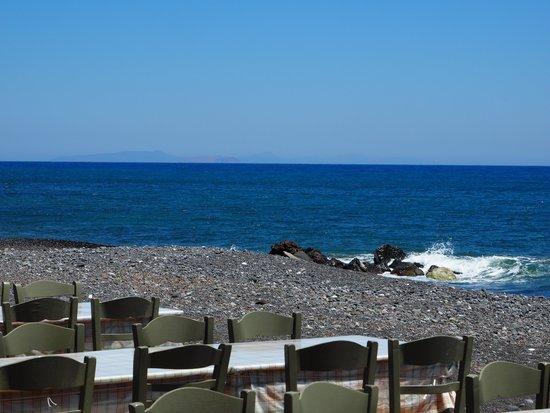 Galini Restaurant - Fish Tavern : Ausblick von der Terrasse