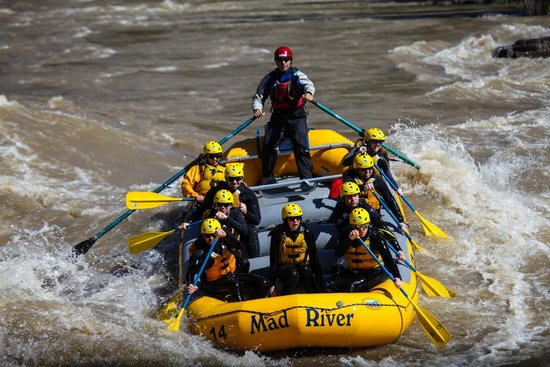 Mad River Boat Trips: White Water Rafting w/ Mad River Class 4 Rapid