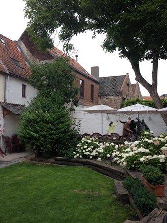 Herberg Vlissinghe: the garden of the Café Vlissinghe