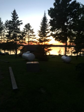 Deerfoot Lodge & Resort: View from the lodge