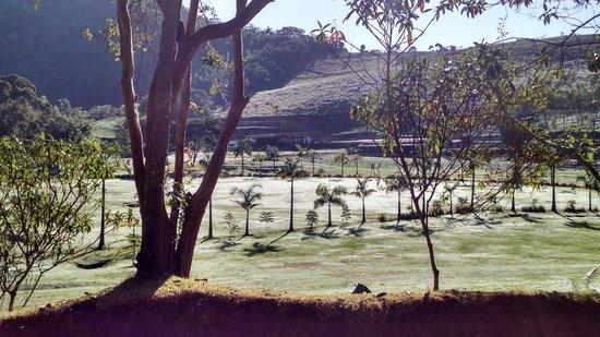 Fazenda Gamela Eco Resort: Vista da varanda do quarto