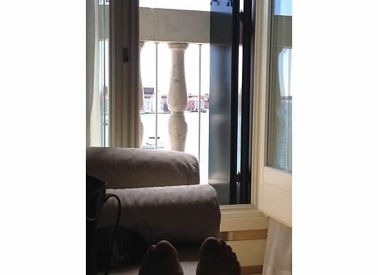 Hotel Londra Palace: View