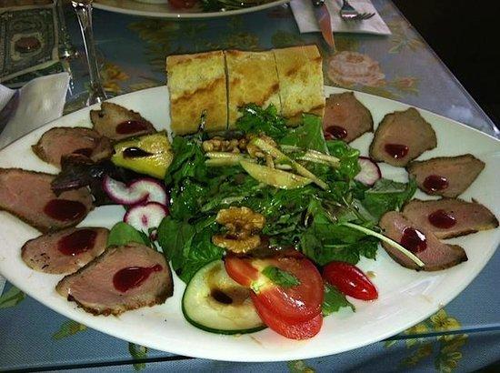 Branko's Patisserie du Jour: duck salad