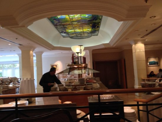The Westin Zagreb: O buffet
