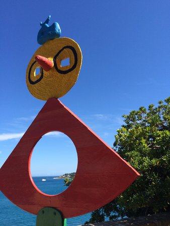 joan miro sculptures - Picture of Musee Picasso, Antibes - TripAdvisor