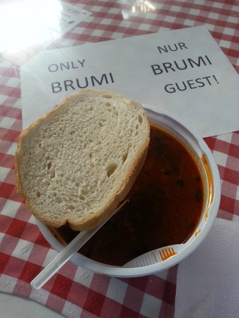 Central Market Hall: Goulash Soup in Central Market