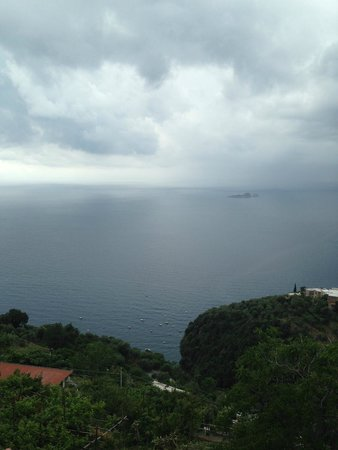 B&B Mamma Rosa Positano: View from our terrace