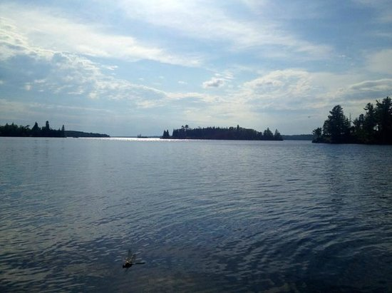 Falcon Trails Resort: view from dock