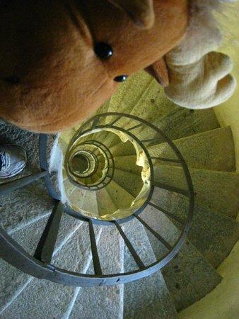 Basilica di Superga : escada para subir na torre da basilica