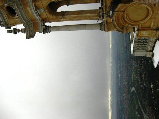 Basilica di Superga : vista de cima da basilica