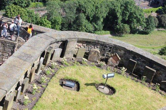 Castillo de Edimburgo: Pet Cemetery