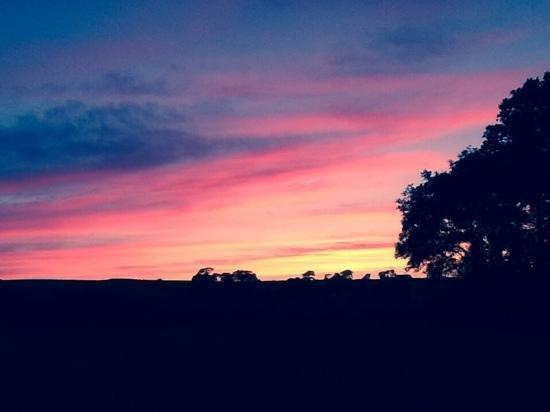 Sunset at Menkee Barns