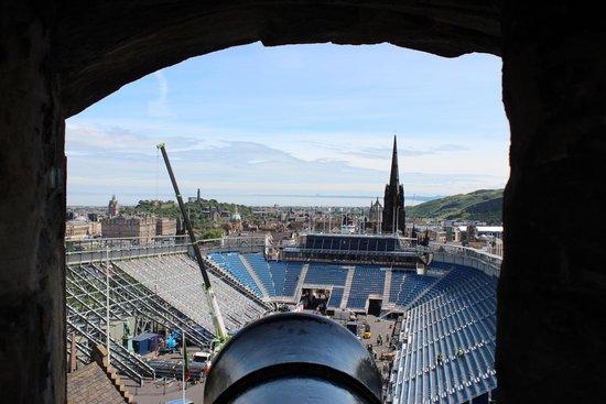 Castillo de Edimburgo: Esplanade