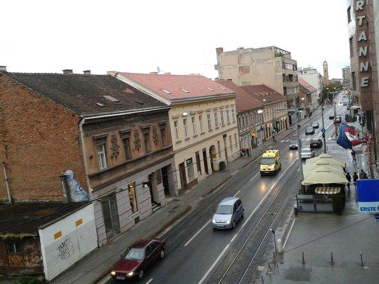 Hotel Jadran Zagreb: Vista dall'alto