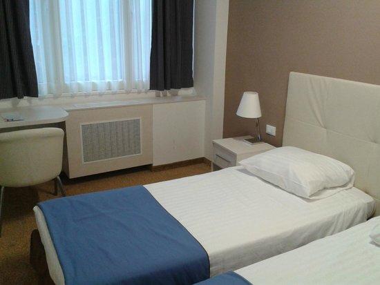 Hotel Jadran Zagreb: La stanza