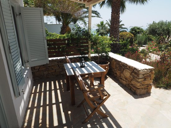 Kavos Boutique Hotel Naxos: Terrasse