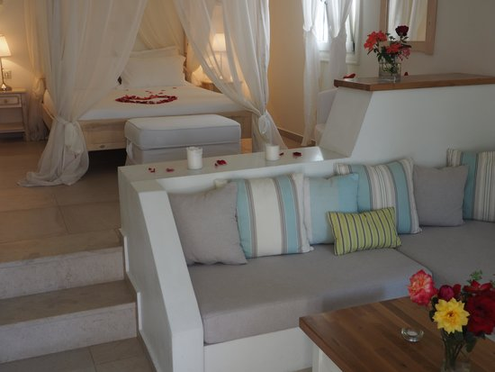 Kavos Boutique Hotel Naxos: Zimmer