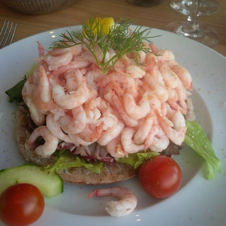 Upper House: Shrimp Sandwich