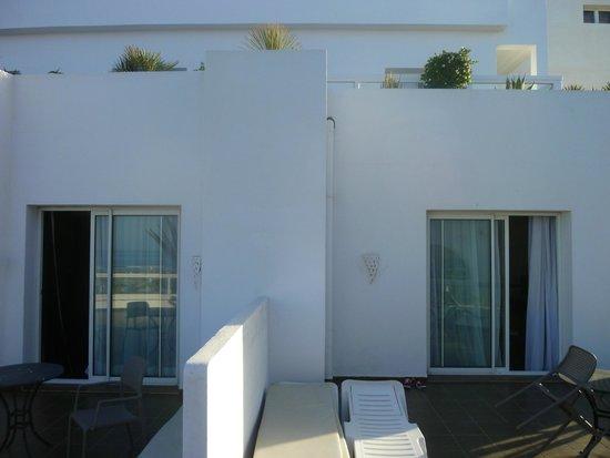 Royal Decameron Tafoukt Beach Hotel : photo prise de la terrasse