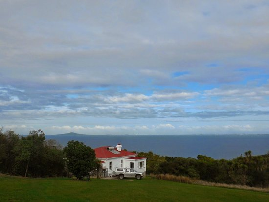Tiritiri Matangi Island : View from the lighthouse