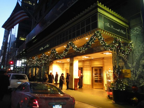 The Roosevelt Hotel : Fachada central do Hotel!
