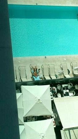 Hotel da Rocha: Pool view from outside of our room