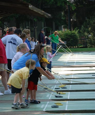 Fountain Inn: Shuffleboard