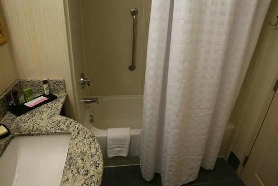 Embassy Suites by Hilton Orlando Airport: bathtub / shower