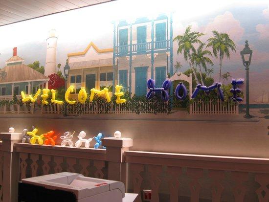 Disney's Old Key West Resort: front desk