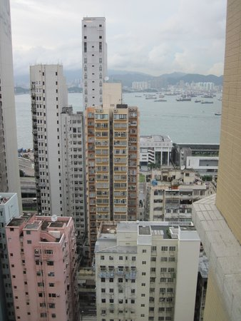 Best Western Hotel Harbour View Hong Kong: View from my room on 23rd floor.