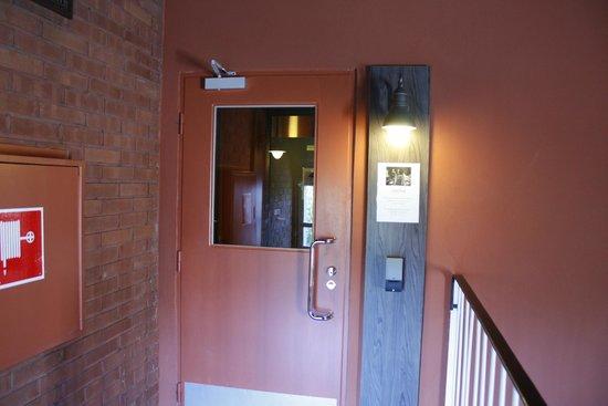 Eurohostel: сауна вход 7 этаж