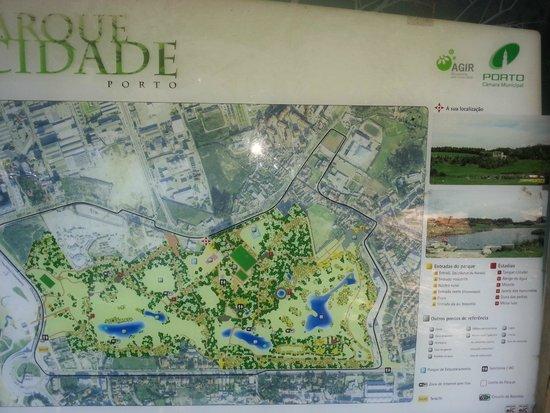 parque da cidade porto mapa Mapa do parque   Foto de Parque da Cidade do Porto, Porto  parque da cidade porto mapa