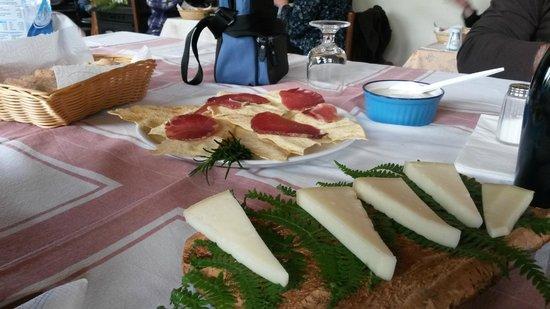 Agriturismo Montecresia: Particolare Antipasto