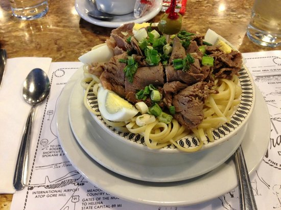 """Tracy's Family Restaurant: A Tracy's """"Signature Dish"""" - Beef version"""