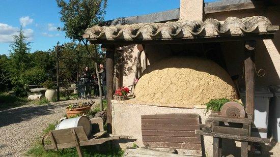 Agriturismo Montecresia: particolare forno