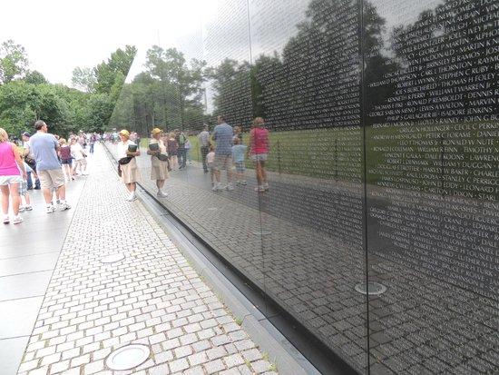 Vietnam Veterans Memorial : Monumento aos veteranos