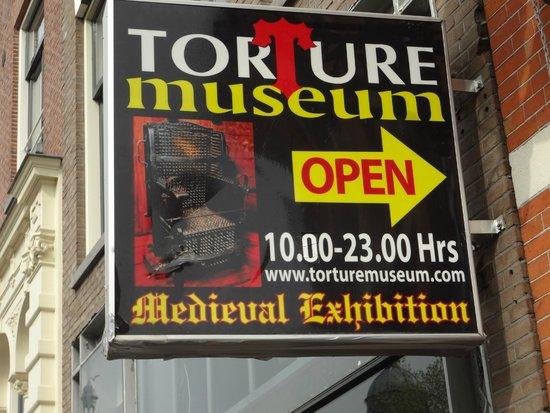 Torture Museum: fachada museu da tortura