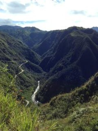 El Refugio de Intag Cloud Forest Lodge: View from a hike.