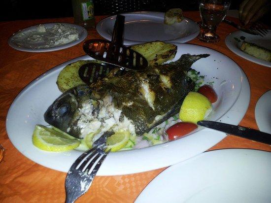 Maria Beach Restaurant: Il pesce !