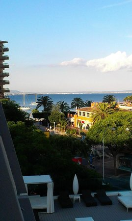 Aparthotel Rosa del Mar: Uitzicht vanuit balkon kamer 345