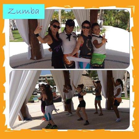 Secrets Maroma Beach Riviera Cancun: Zumba